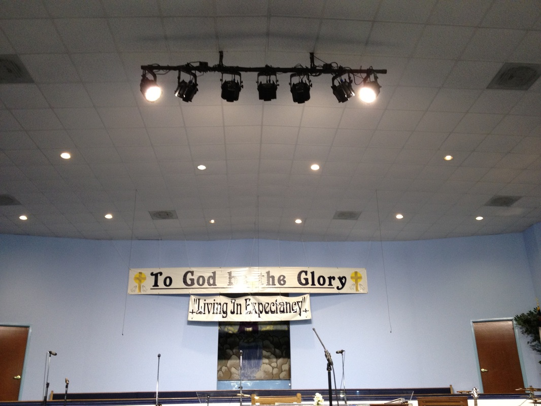 Ransom Way Temple Church Amp Stage Lighting Sound And
